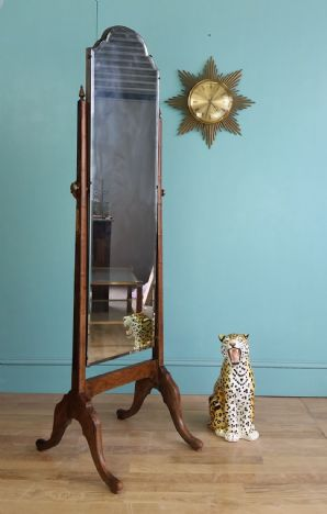 Antique English changing mirror - SOLD